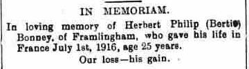 Framlingham Weekly News - Saturday 30th June 1917