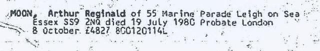 MOON Probate 1980